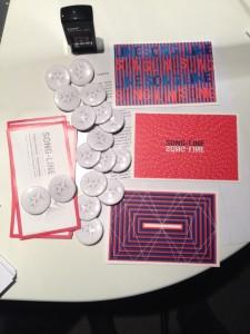 Nos badges et cartes de remerciement pour tous les donateurs de voix.