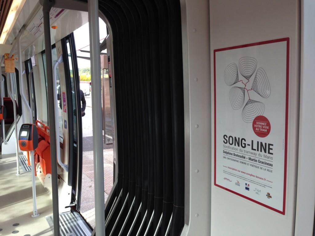 Affiche tram